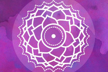 Kronenchakra Symbol