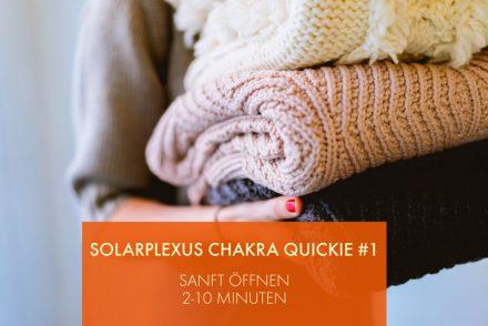 Solarplexus Chakra aufladen - reinigen - öffnen