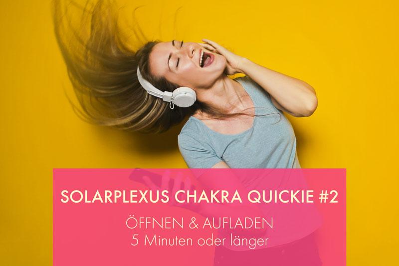 Solarplexus Chakra öffnen